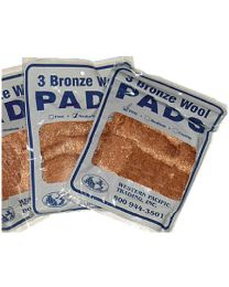 Western Pacific Trading Bronze Wool Med  3/Pd WPT 35005