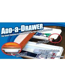 Smart Solutions Add A Drawer 2X8X17 White SNS 0814WHITE