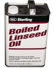 Sterling Linseed Oil Boiled Gallon SCL 102101
