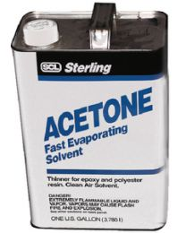 Sterling Acetone Pure Quart  @6 SCL 400004