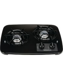 Suburban 2 Burner Drop-In Cooktop Black SBM 2937ABK