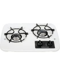 Suburban 2 Burner Dop-In Cooktop White SBM 2937AWH