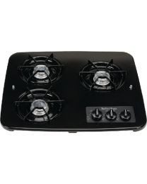 Suburban 3 Burner Drop-In Cooktop Black SBM 2938ABK
