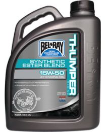 Bel-Ray 10W40 Thumper Oil Gal (4Cs) BRC 99520B4LW