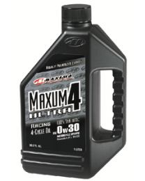 Maxima 4-Cycle Powersports Oil Maxum4 Synthetic Ultra 5W40 Ltr MRL 17901