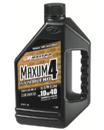Maxima 4-Cycle Powersports Oil Maxum4 Syn Blend 10W40 Ltr MRL 34901B