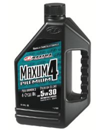 Maxima 4-Cycle Powersports Oil Maxum4 Prem 10/40 128Oz MRL 349128