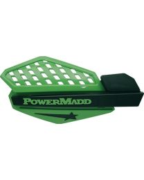 Powermadd Handguards Green/Blk PDD 34203