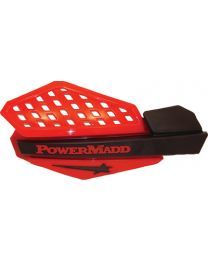 Powermadd Handguards Red/Blk-Honda PDD 34207