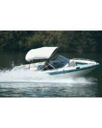 Carver Covers 3 Bow Ta36In 61-66 Jet Blk Tp CVR A3663TB2