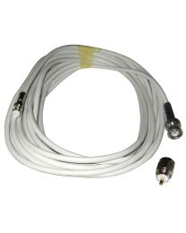 Comrod 20 Meter Vhf Rg58 Cable W/ Bnc & Pl259 Connectors