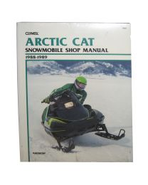 Clymer Arctic Cat Snowmobile 1988-1989 S835