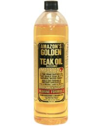 Amazon Quart Golden Teak Oil AMA GTO150