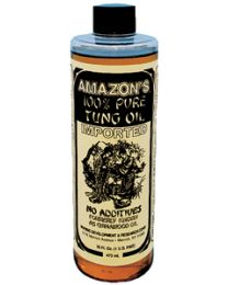 Amazon Tung Oil 100% Pure Pint AMA TO425