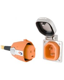Smartplug 30 Amp Inlet & Plug Combo Stainless Steel No