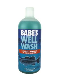 Babes Boat Care Well Wash Cleaner&Conditner Qt BAB BB8432
