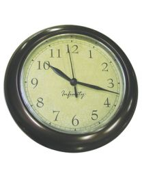 Manufacturers Select 6.5In Round Clock With Antique MFS 32000TFCFD