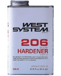 West System Slow Hardener - .44 Pint WSY 206A
