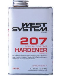 West System .66 Pt. Spec. Clear Hardener WSY 207SA