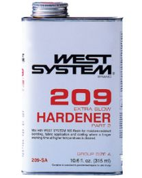 West System Extra Slow Hardener .66 Pint WSY 209SA