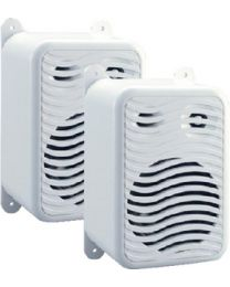 Poly-Planar Gunwale Mount Speakers White PPL MA9020