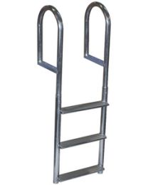 Dock Edge Aluminum Wide Step Ladder DEI 2044F