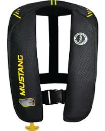 Mustang Survival Mit 100 Infl Pfd Man Blk/Ylw MUS MD201402263