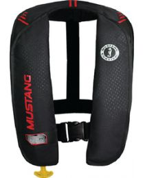 Mustang Survival Mit 100 Infl Pfd Auto Blk/Red MUS MD20160260