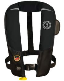 Mustang Survival Hit Infl Pfd Auto Black MUS MD31830213