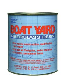 Evercoat Boat Yard Resin Quart W/Wax FIB 100518