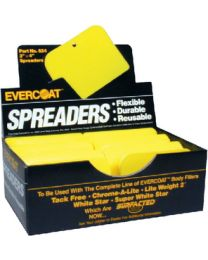 Evercoat 3  X 4  Spreaders - Bulk 72/Bx FIB 100524