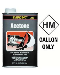 Evercoat Acetone Quart FIB 100582