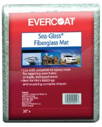 Evercoat Fiberglass Mat 1 Sq Yard FIB 100940