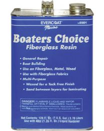 Evercoat Boaters Choice Resin Gl W/Hdnr FIB 105501