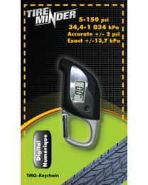 Minder Research, LED Digital Gauge W/Flashlight MRI TMGKEYCHAIN