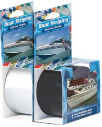 Incom Black Boat Striping 1/4X50' INC RE20BL