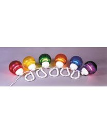 Polymer Products Fixture Multi Color 6 Globes PYP 166100523