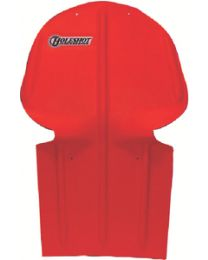 Holeshot Polaris Edge Skidplate Red HLS 20157011