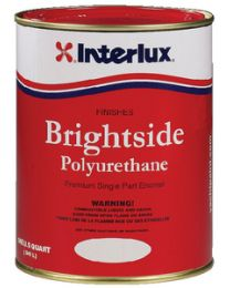 Interlux Brightside Black - 1/2 Pint INT 4258HP
