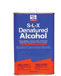 Klean Strip Denatured Alcohol 1Qt @6 KSP QSL26