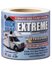 Co-Fair Corp. Quick Roof Extreme Wht 4Inx25' Cfc Ube425