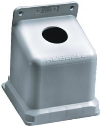 Hubbell 100A Back Box-Non-Metallic Hub Bb100N