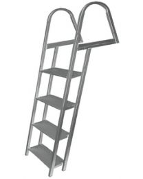 Jif Marine 4-Step Dock/Pontoon Ladder Jif Ash