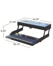 Kwikee Products Co Single Kwikee/Lectro Step Blk Kpc 3747453