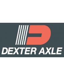 Dexter Axle 24 X 68 Rh W/Slider Smooth Wht Dxa 5140Crated