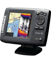 Lowrance Elite 5 Hdi Gold No Xd Low 00011175001