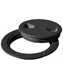 Tempress Screw Out Deck Plate 6In Black Tep 43135