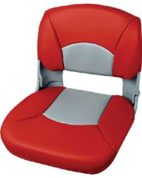 Tempress All-Weather Gray Seat-Red/Gray Tep 45611