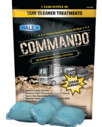 Walex Products Commando Black Tank Cleaner Wlx Cmdobg