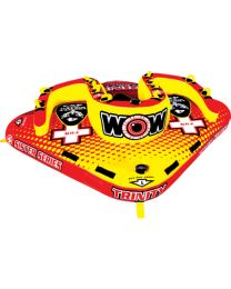Wow Watersports Trinity 4P Sister Towable Wow 151080